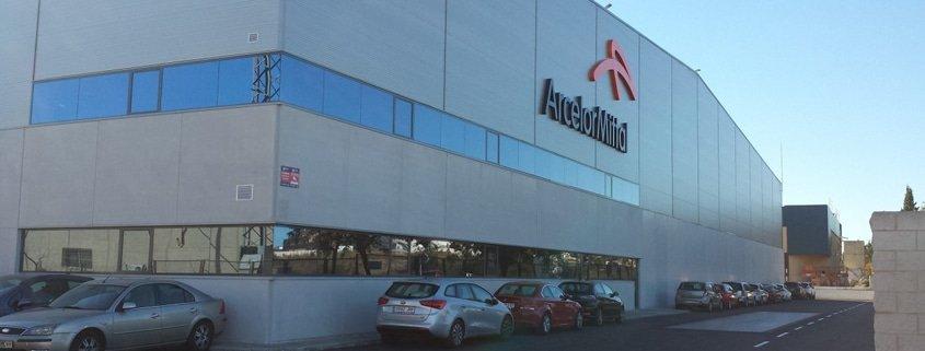 Plataforma Logística de Arcelor Mittal en Picassent