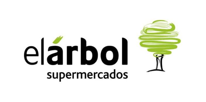 Logo de Supermercados El Árbol