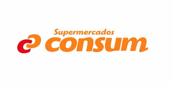 Logotipo de Supermercados Consum