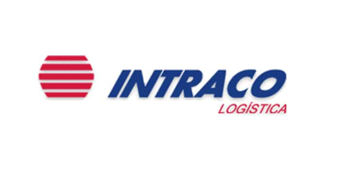 Logotipo de Intraco Logística