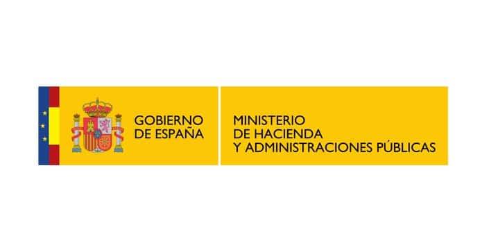 Logo del Ministerio de Hacienda y Administraciones Públicas