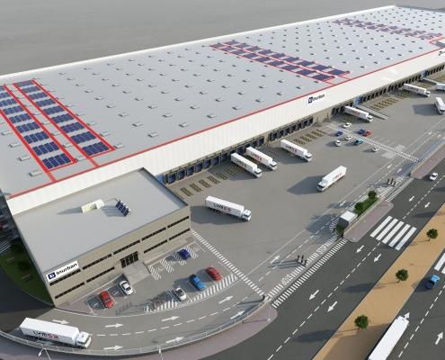 Proyecto de plataforma logística en Valencia